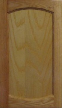 Cabinet Door, Double Crown Flat Panel Cabinet Door